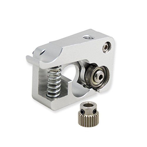Rokoo Dispositif d'alimentation d'extrudeuse de mise à niveau d'imprimante de gauche ou droite de 1.75mm MK10 3D pour Makerbot Replicator 2