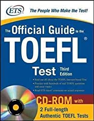 (The Official Guide to the TOEFL Test [With CDROM]) By McGraw-Hill (Author) Paperback on 01-Jul-2009