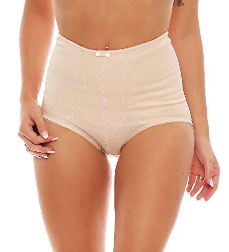 Damen Miederslip Bauchweg Unterwäsche Nr. 425 Hautfarben