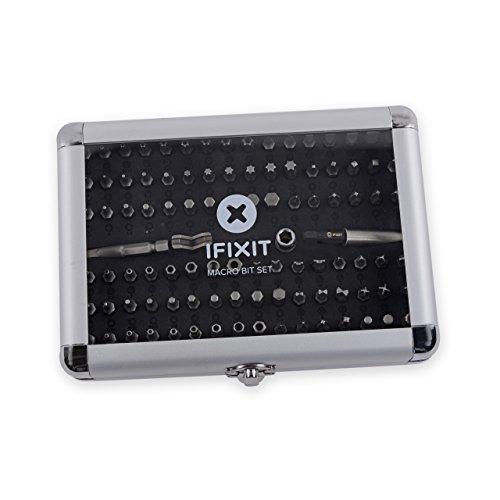 Preisvergleich Produktbild iFixit Macro Bit Set 97-teiliger Bitsatz Torx Pozidriv Kupplung Spline Tri-Point Quadrat Spanner
