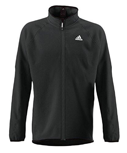 adidas Sailing Herren Fleecejacke Outdoor Funktionsjacke, Größe:M, Farbe:Dark Grey