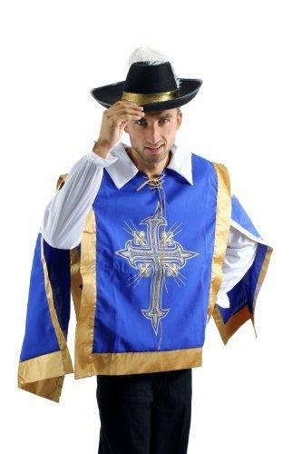 Theater Erwachsenen Kostüm Soldat Für - DRESS ME UP Kostüm Herren Herrenkostüm Set Musketier Musketeer Pirat Barock Soldat L050 Größe 56 / XL