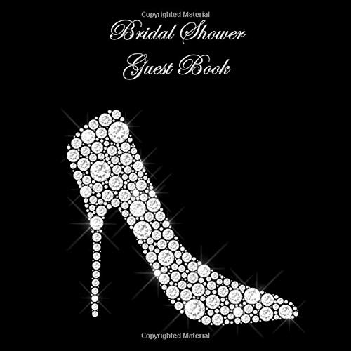9cb0af217 Bridal Shower Guest Book  for Sign In Wishes Messages and Comments Includes  Gift Log Diamond
