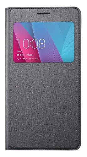 Huawei HUA5XVIEW Etui flip pour Huawei Honor 5X Gris