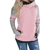 Hanomes Damen pullover, Frauen Langarm Hoodie Sweatshirt Pullover Tops Casual Bluse Jumper Coat preisvergleich bei billige-tabletten.eu