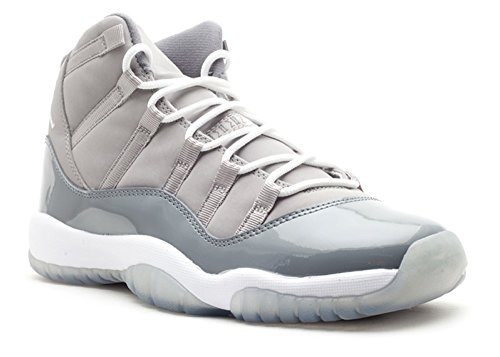 AIR Jordan 11 Retro (GS) 'COOL Grey 2010' - 378038-001 - Size 38.5-EU (Cool Grey 11 Retro)