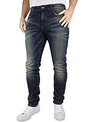 Scotch & Soda Homme Skim Hocus Pocus Skinny Fit Jeans, Bleu