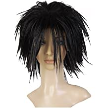 Cosplayland C744 - Death Note L Ryuuzaki black Spiky Cosplay short Party Wig (peluca)