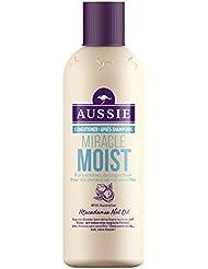 Aussie Miracle Moist Après-shampoing pour Cheveux Secs et Abîmés 250 ml