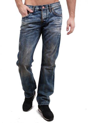 Cipo & Baxx Jeans Rutgar mittelblau W30L32