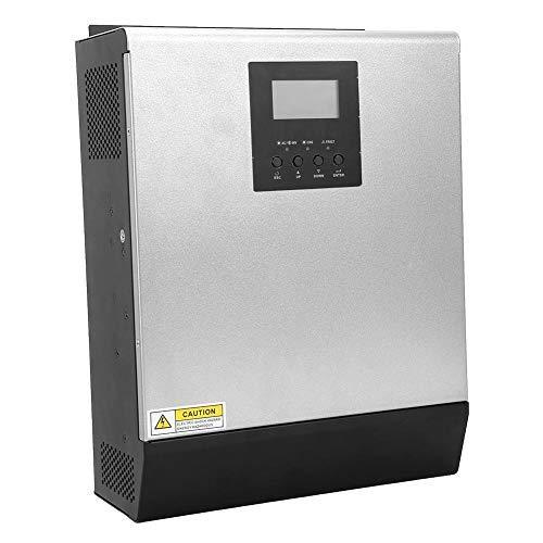 Solar Wechselrichter, Photovoltaik 3KW 2400W MPPT 24V MPS-3K Hybrid Wechselrichter netzunabhängiger Controller(25A)