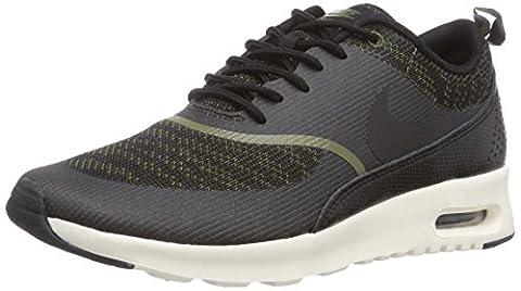 Nike Air Max Thea Jacquard, Damen Sneakers, Grün (Faded Olive/Black-Sail), 36 EU (Nike Air Max Thea Black)