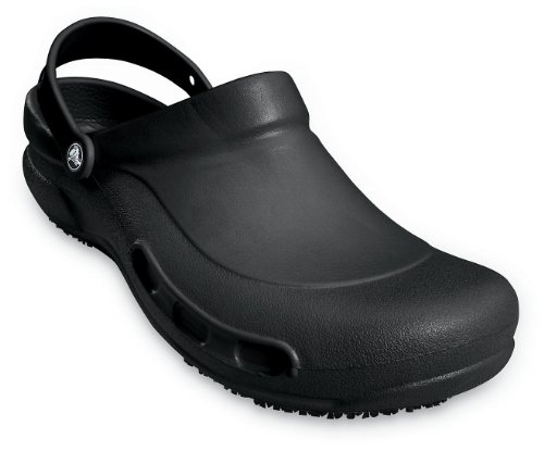 Crocs Bistro, Zoccoli unisex adulto Nero (nero)