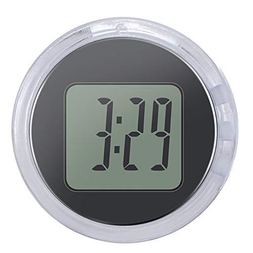 SmartHitech Universal Mini Reloj de Moto Reloj Portatil Adhesivo Impermeable y Antichoque...