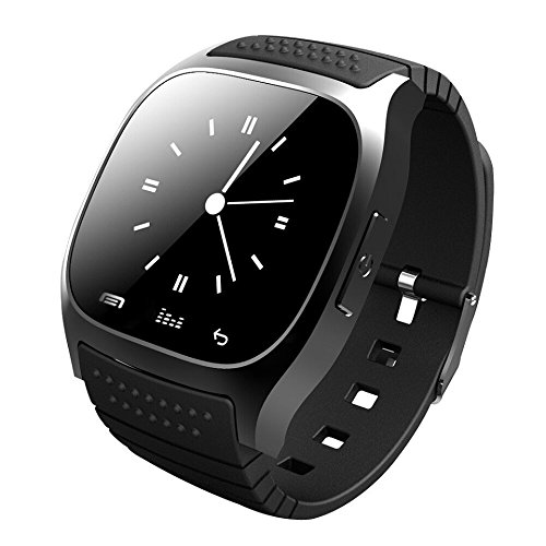 efanr M26 Bluetooth Smart Armbanduhr Smartwatch Armbanduhr Phone Mate Schrittzähler Fitness Activity Tracker Touch Bildschirm Armband für iPhone Android Smartphones