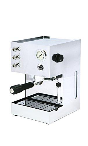La Pavoni 218Gran Caffe Steel GCM Cafetera expreso