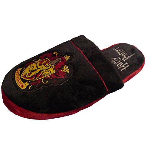 harry-potter-grifondoro-crest-slip-on-pantofole-nero-black-charcoal-large