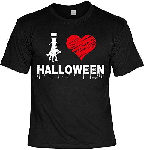 Halloween T-Shirt - coole Sprüche / Motive - Kostüm Halloweenparty : Halloween -- Halloweenshirt Zombie Hand Monster Gr: L (Halloween Shirts Für Erwachsene)