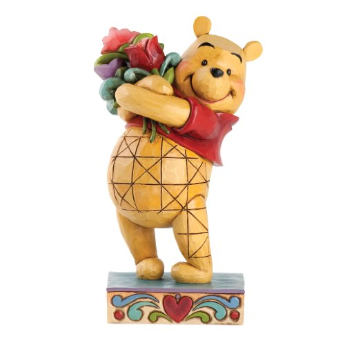 Disney Britto - Figura Decorativa de Winnie The Pooh (tamaño pequeño)