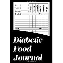Diabetic Food Journal: Record Blood Sugar Supplies