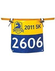 Nathan Race Number Belt Startnummernband Orange 1124NO