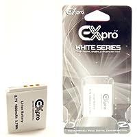 Ex-Pro ® Fuji NP-50, NP50 Ultra White Series remplacement de la batterie 3.7V, 1000mAh [Voir la desc