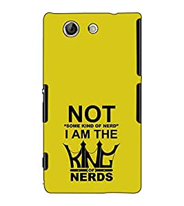 Fuson Designer Back Case Cover for Sony Xperia Z4 Compact :: Sony Xperia Z4 Mini (Not some kind of nerd )