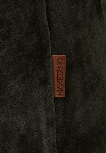 Naketano - Pull - Uni - Femme Dark Olive