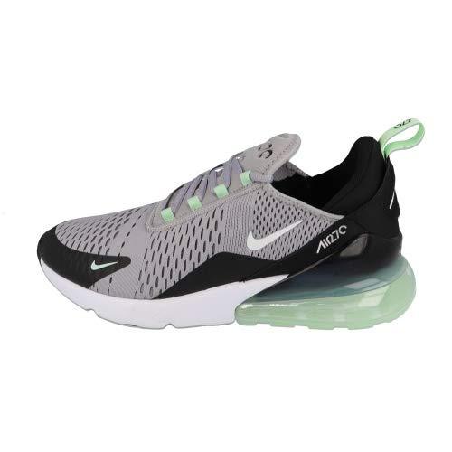 Nike Herren Air Max 270 Leichtathletikschuhe, Mehrfarbig (Atmosphere Grey/White/Fresh Mint/Black 1), 45 EU