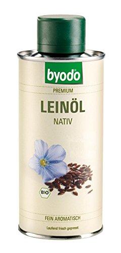 Byodo Bio Leinöl, nativ (4 x 250 ml)