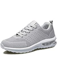 huge discount c5c7a 4e150 Fexkean Hommes Femme Basket Mode Chaussures de Sports Course Sneakers  Fitness Gym athlétique Multisports Outdoor Casual