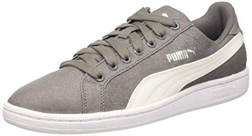 Puma Unisex-Erwachsene Smash Canvas Tennisschuhe Grau