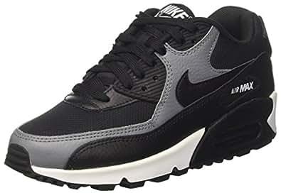 Nike Damen Air Max 90 Gymnastikschuhe Schwarz Cool Grey-Black, 38 EU