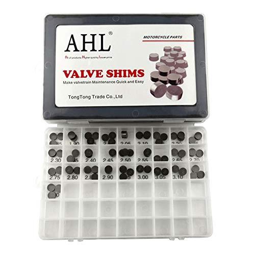 AHL Durchmesser: 10.0mm 3 x 28pcs 1.85mm-3.20mm Ventileinstellplättchen Ventil Shim Ventile einstellen für 1190 ADVENTURE 2013-2015/1190 RC8 2008-2015