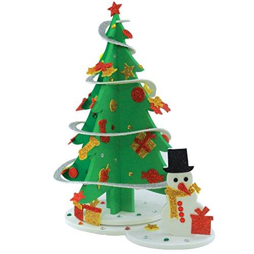 Sparkling Christmas Tree - Make Your Own Christmas Tree and Snowman, Christmas Tree DIY, Christmas Decorations, Christmas Gifts