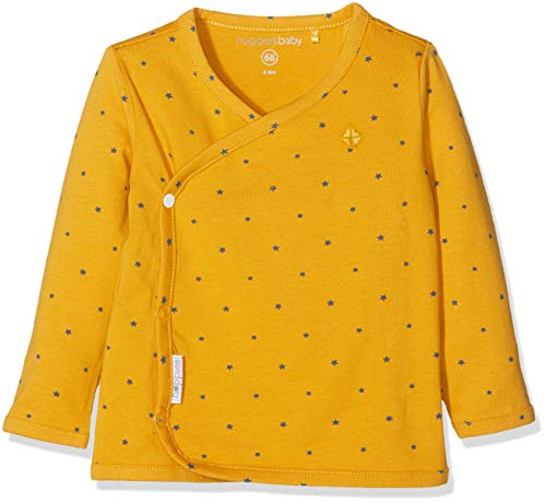 Noppies Noppies Unisex Baby T-Shirt U Tee Overlap Taylor, Gelb (Honey Yellow C036), Neugeboren (Herstellergröße: 44)