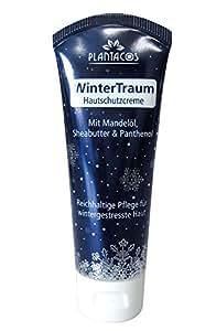 Plantacos -Basics- Hautschutzcreme Wintertraum, Hautcreme für zarte Hände mit Mandelöl, Sheabutter und Panthenol, 50 ml