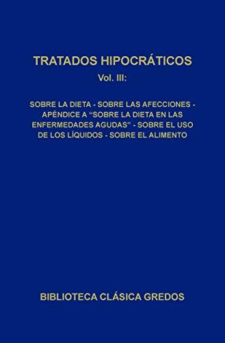 Tratados hipocráticos III (Biblioteca Clásica Gredos) por Varios autores