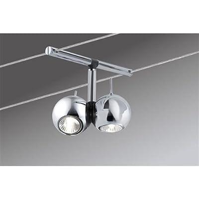 Paulmann 97615 Wire Systems Sphere 200 5x(2x20W) GU4 Chrom 230/12V 210VA Metall von Paulmann Leuchten auf Lampenhans.de