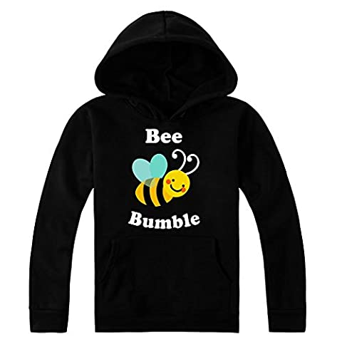 Bee Bumble Awesome Flying Bee Design WoMen's Hoodie Pullover Pull à Capuche pour HommesPull à Capuche pour Femmes Medium