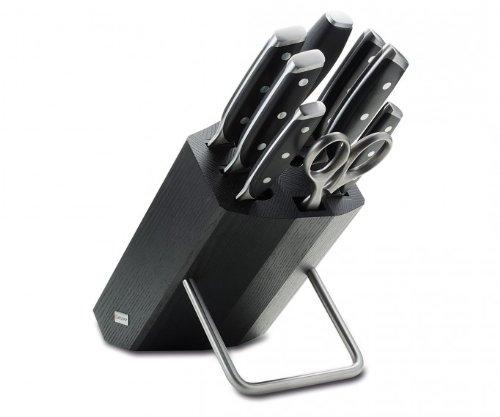 Wüsthof 9869 Messerblock mit 8 Teilen, Stahl, schwarz, 41.4 x 28.2 x 15.6 cm, 9 Einheiten
