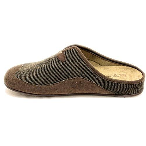 Pantofole Bicha Per L'uomo Scuro Colore Vulca Di Marrone Twqvx5TAn