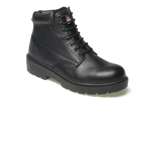 Dickies Mens Antrim Safety Boot Shoes Steel Toe Cap & Steel Midsole Work Branded Lightweight Footwear Oil & Slip Resistant FA23333 BLACK SIZE UK 6 by Dickies