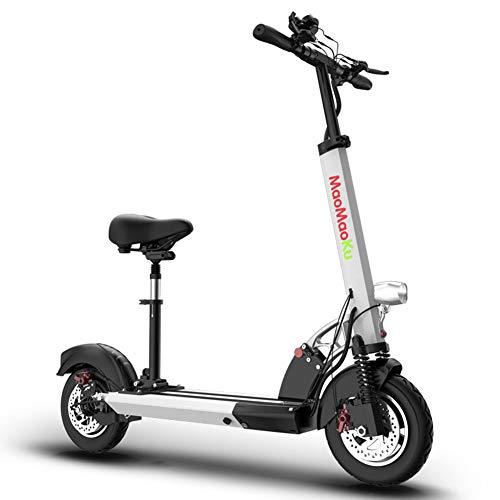 XWZG Portable Folding Elektroroller Mini Erwachsene Stoßdämpfer Fahrrad/Maximale Laufleistung 80KM, Höchstgeschwindigkeit 45KM / H, 48V500W Mit Fernbedienung Diebstahlsicherung