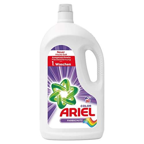 Ariel Color Flüssigwaschmittel Farbschutz, 60Waschladungen, 3er Pack(3 x 3300 ml)