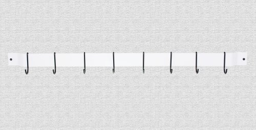 Rogar 36 Inch Bar Rack - White and Black by Rogar - Rogar Bar