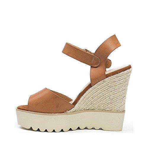 Ideal Shoes ,  Sandali donna Marrone