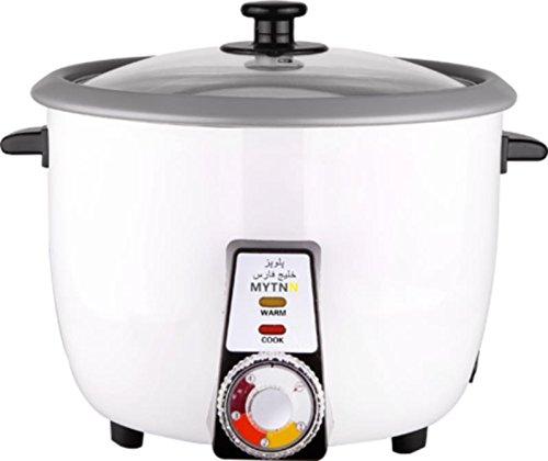 Reiskocher voll Automatisch mit Reiskruste Funktion für 2 bis 3 Personen Tahdig polopaz Rice cooker mit Warmhaltung Funktion TOP Qualität (0.6 Liter für 2 bis 3 Personen)