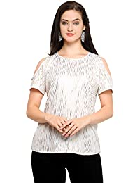 0cc15ce10a013 CHAKUDEE Tops for Women Under 500 Girls Western top wear 2018 Ladies Long  Casual Off Shoulder