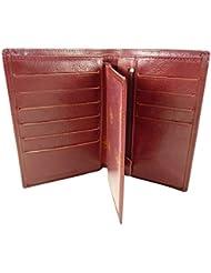 Portefeuille + Porte Carte amovible en Cuir de Vachette